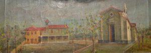 San Giorgio e oratorio di Imberido pittore Francesco Muttoni